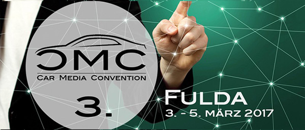 CMC Car Media Convention 2017 in Fulda (3. - 5. März)