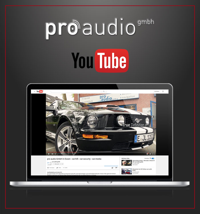 pro audio gmbh- Youtube Kanal