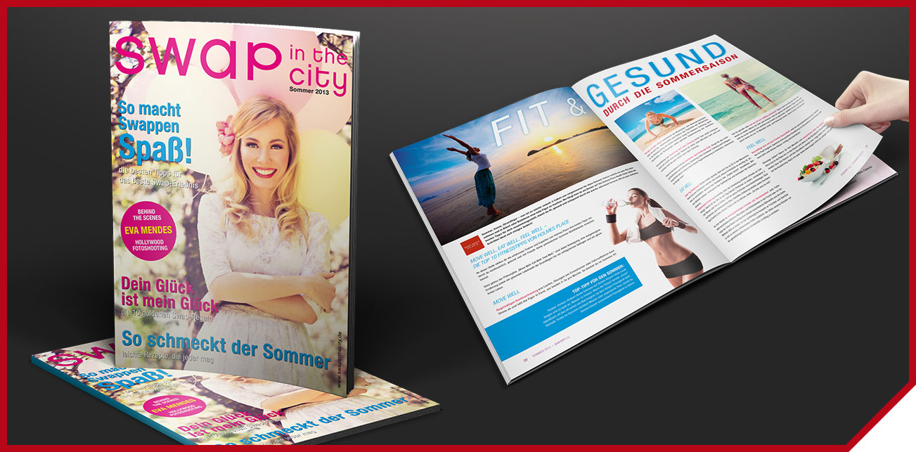 Swap in the City Magazin